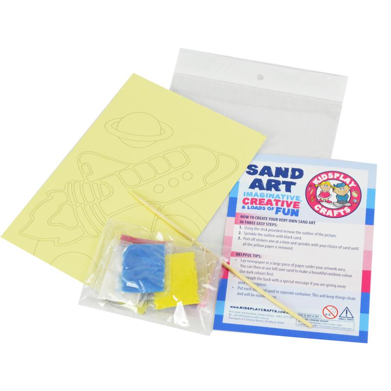 sand art kits single pack kidsplaycrafts
