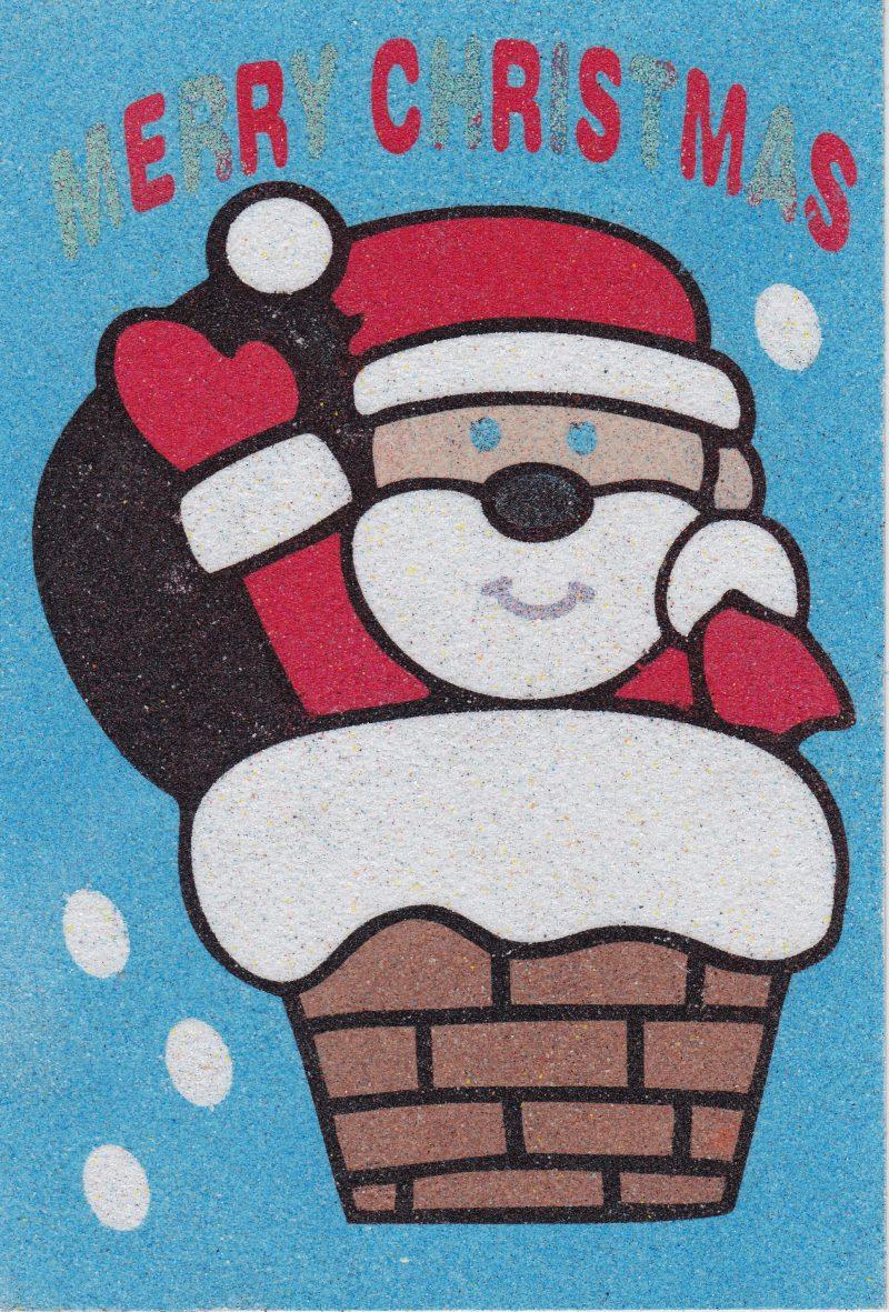 Christmas Santa Chimney