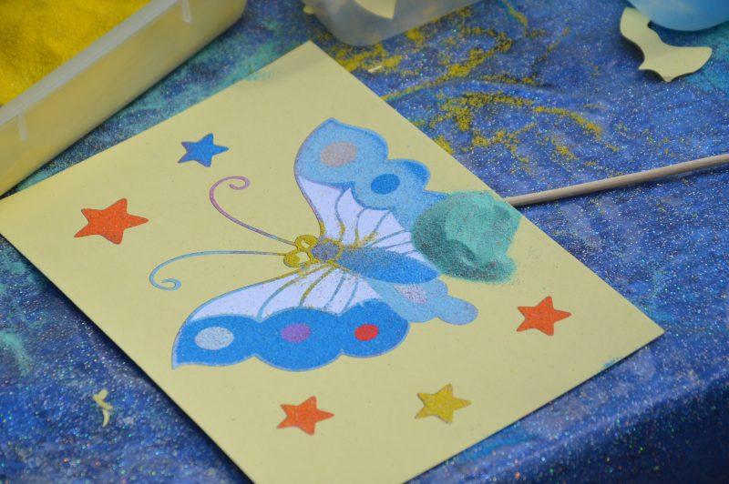Sand Art Butterfly