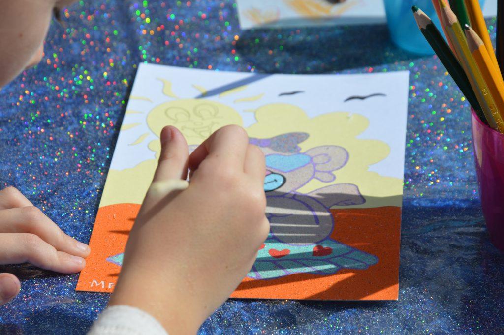 Sand Art for Kids