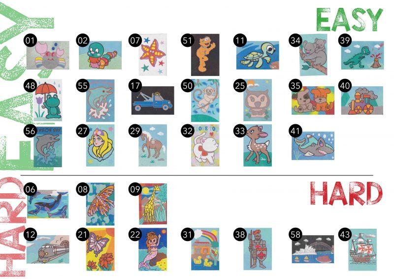 Kidsplay Sandart cards