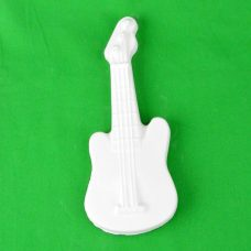 Large Plaster Piece Guitar