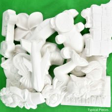 kids plaster moulds