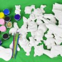 plaster craft pieces small and large