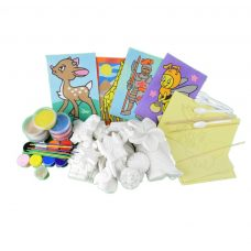 kids craft party sand and plaster