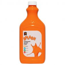 Splash Classroom Acrylic Paint 2L Orange (Tangy) CS2T
