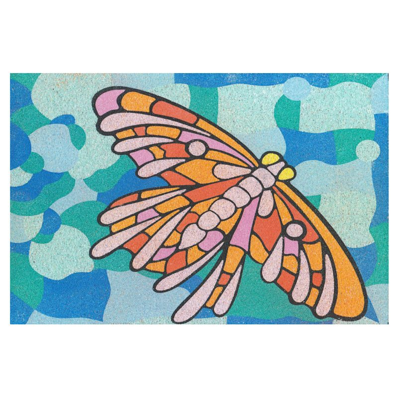 8 - Butterfly Cheap Sand Art Card