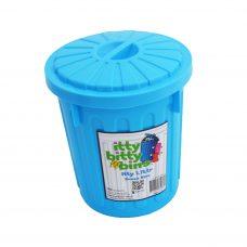 Itty Bitty Bins 1-7litre Blue Tidy Bin
