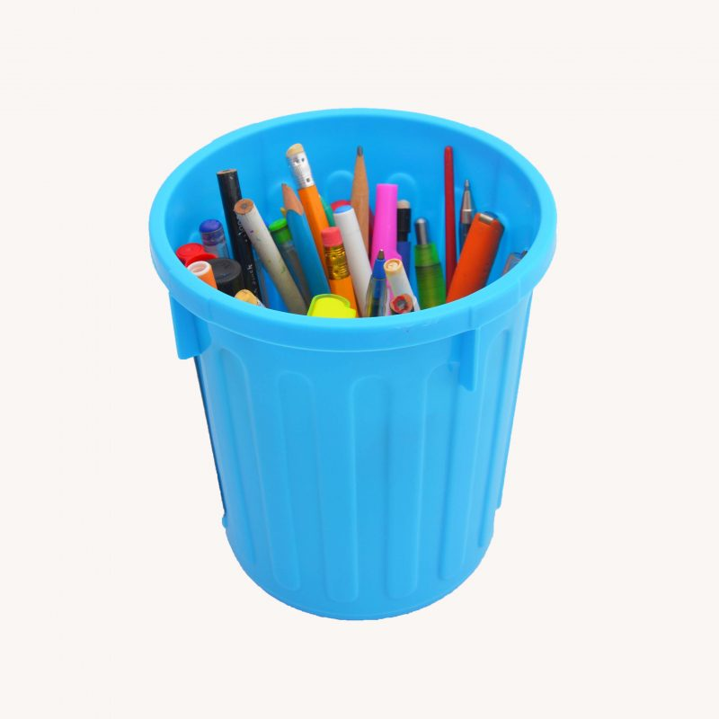 Itty Bitty Bins 1-7litre Blue - perfect to store art and craft stuff
