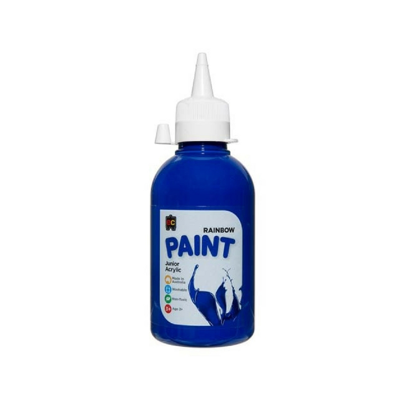 Rainbow Paint 250ml Brilliant Blue R250BL