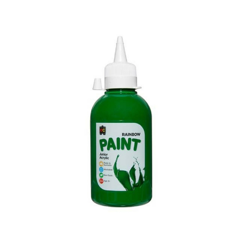 Rainbow Paint 250ml Brilliant Green R250GR