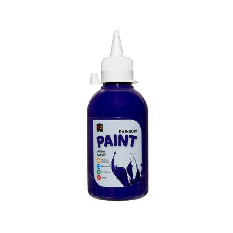 Rainbow Paint 250ml Purple