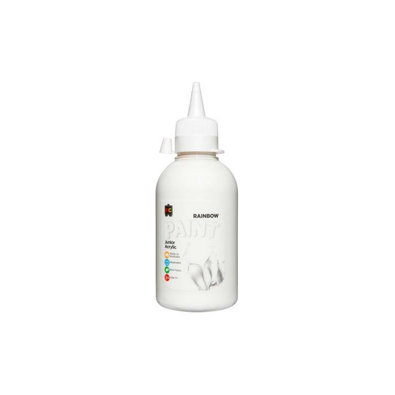 Rainbow Paint White 250ml R250WHT