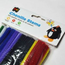 Pack of 100 quality craft pipe cleaners.