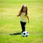 after school care activities girl soccer sports