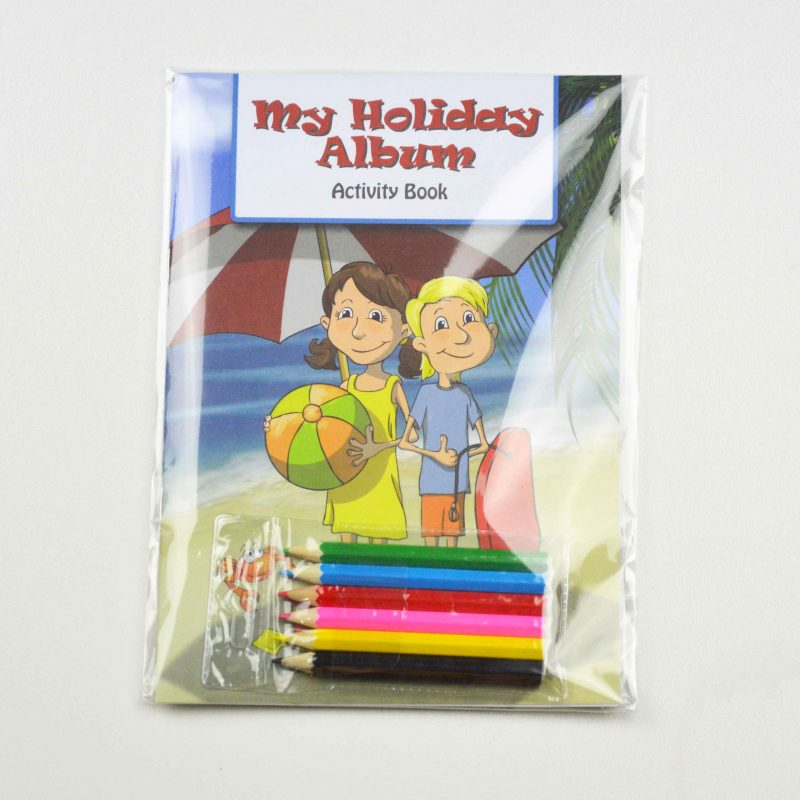 My Holiday Album Kids Activity Pack