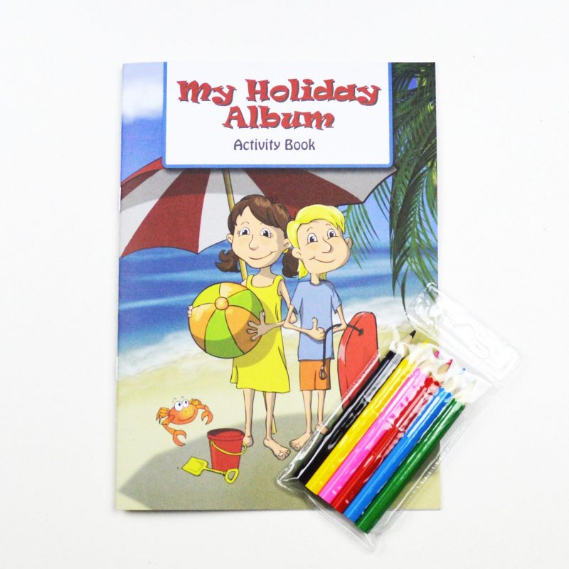 My Holiday Album Kids Activity Pack Volume 1