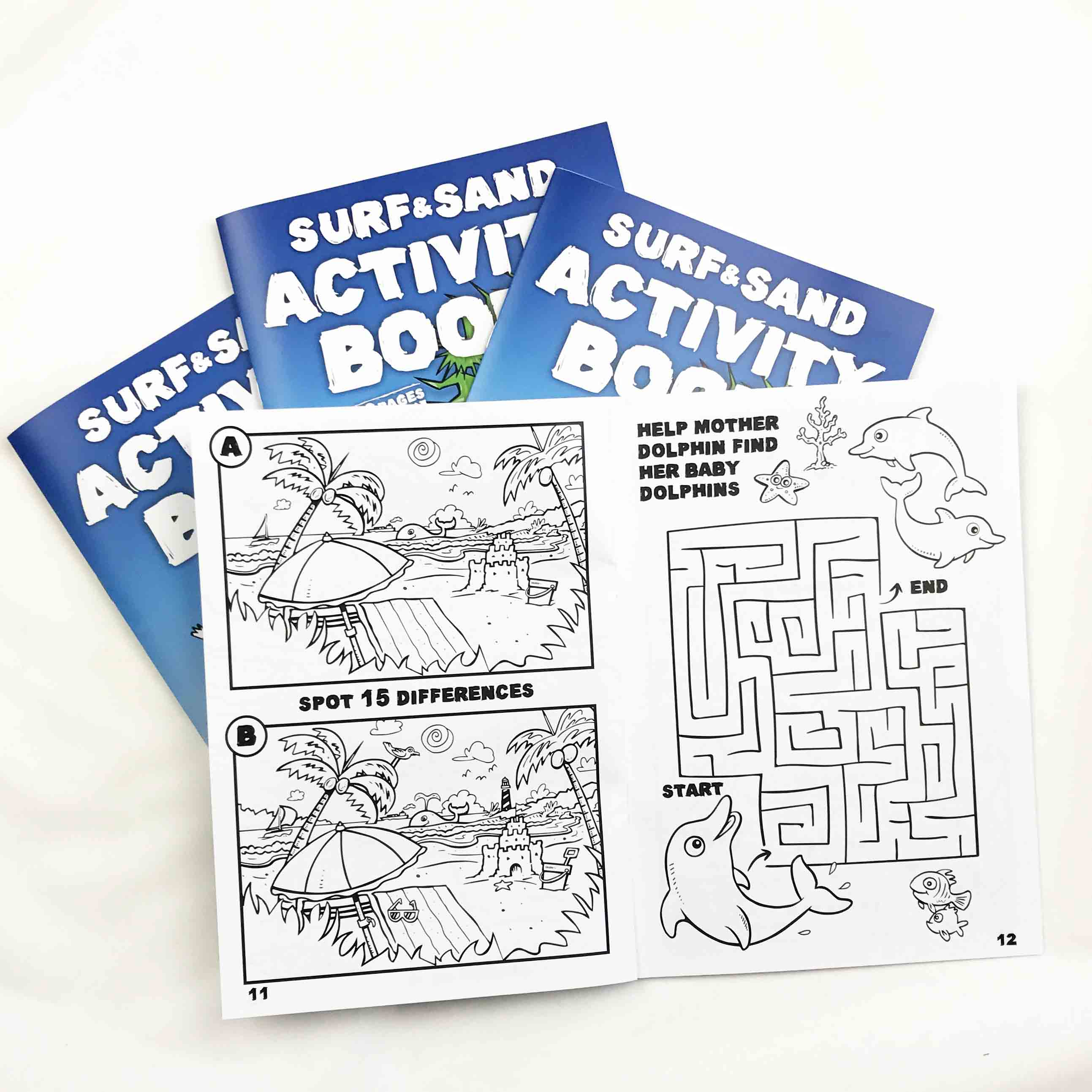 New Kids Activity Books