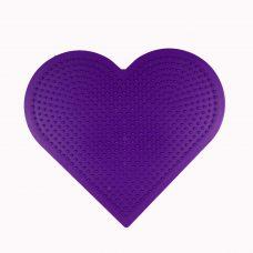 Large heart shaped pegboard
