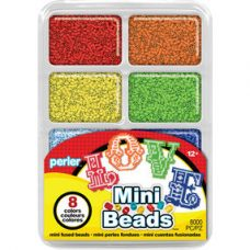 Mini beads Tray Rainbow Colours