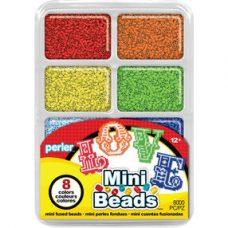 Mini beads Tray Rainbow Colours