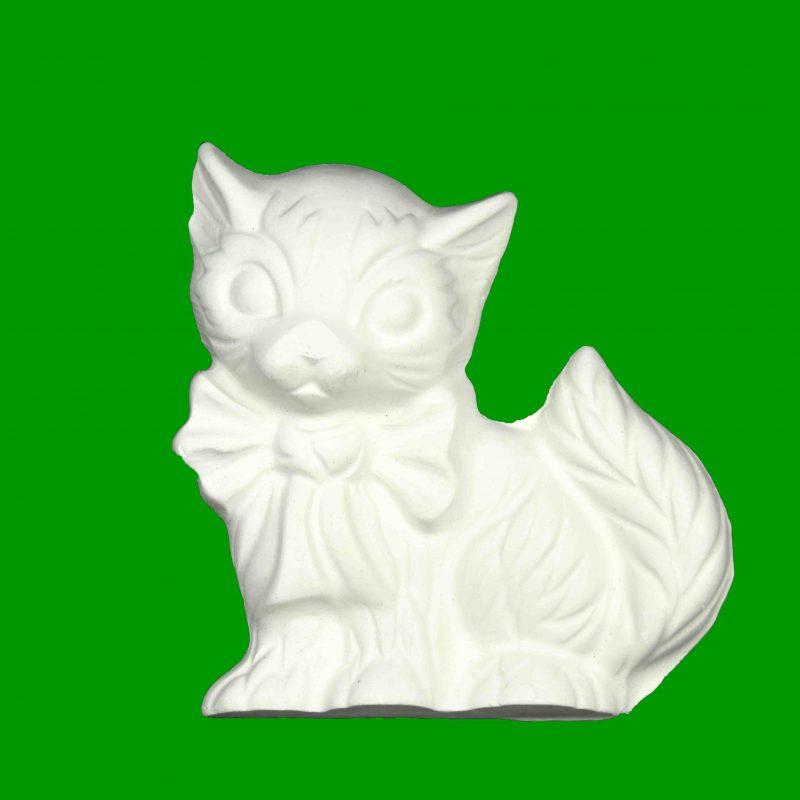 006 Kitten Plaster Piece