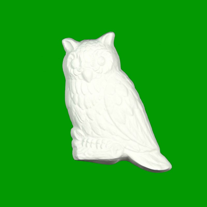 Owl Plaster Piece