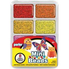 Mini Beads Tray Warm Colours