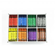 Crayons - Box of 200 Jumbo Crayons in 8 colours