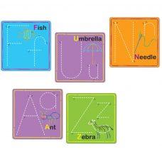 Wikki Stix Alphabet Cards individual letter cards