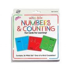 Wikki Stix Numbers and Counting - a fun way to learn numbers