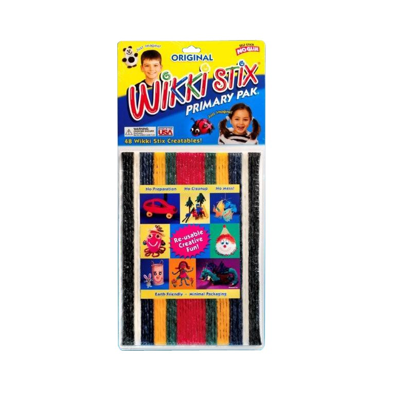 Wikki Stix primary pack of 48