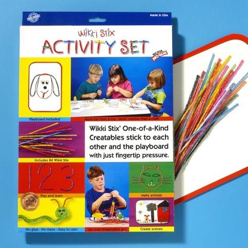 903 Wikki Stix Activity Set creative fun