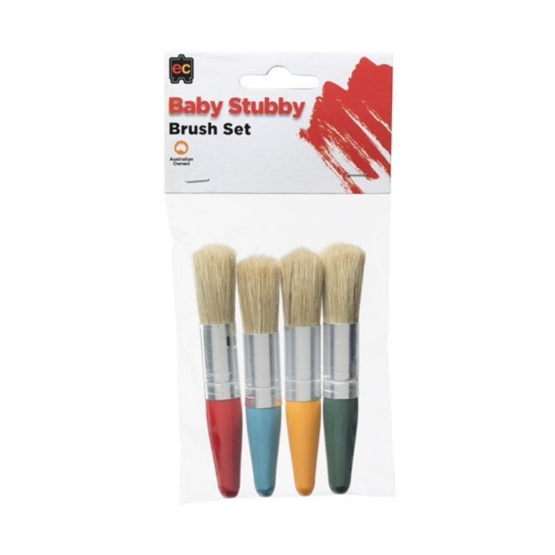 Baby Stubby Brush - My first paint brush!