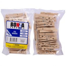 Natural Wooden Pegs pack of 48