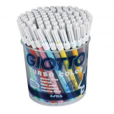 Giotto Turbo Colour Pack of 96 coloured markers best price