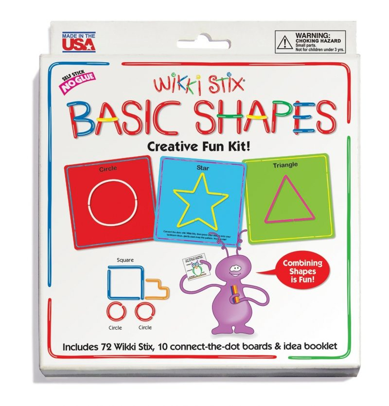 Wikki Stix Basic Shapes Set