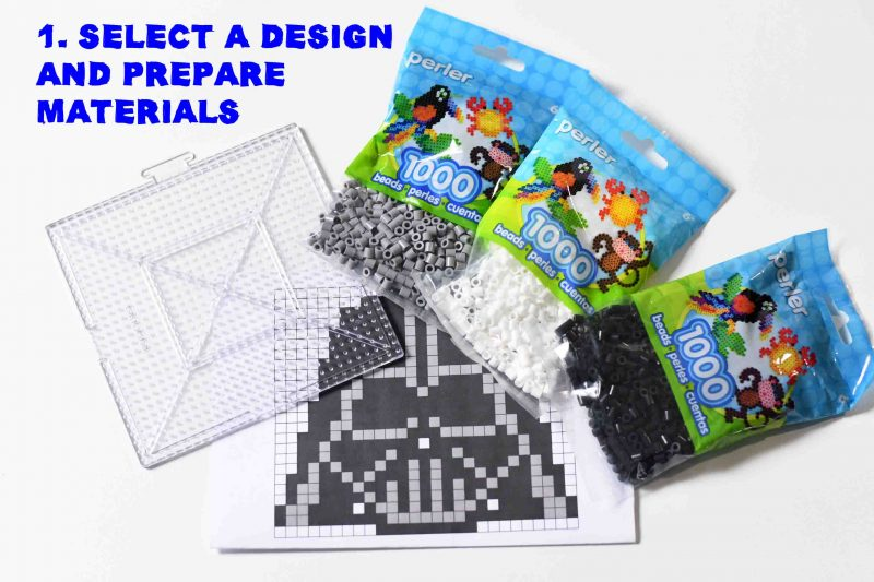 Select a Perler design