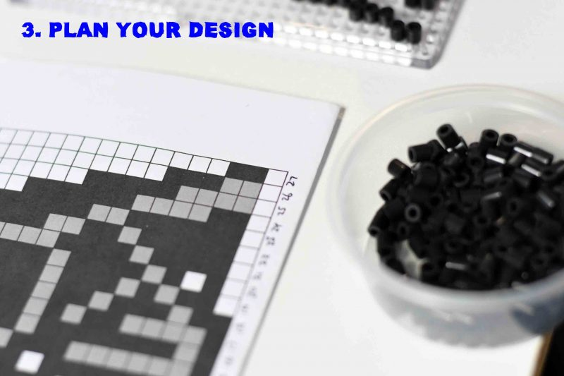 3. Plan your Perler Bead design