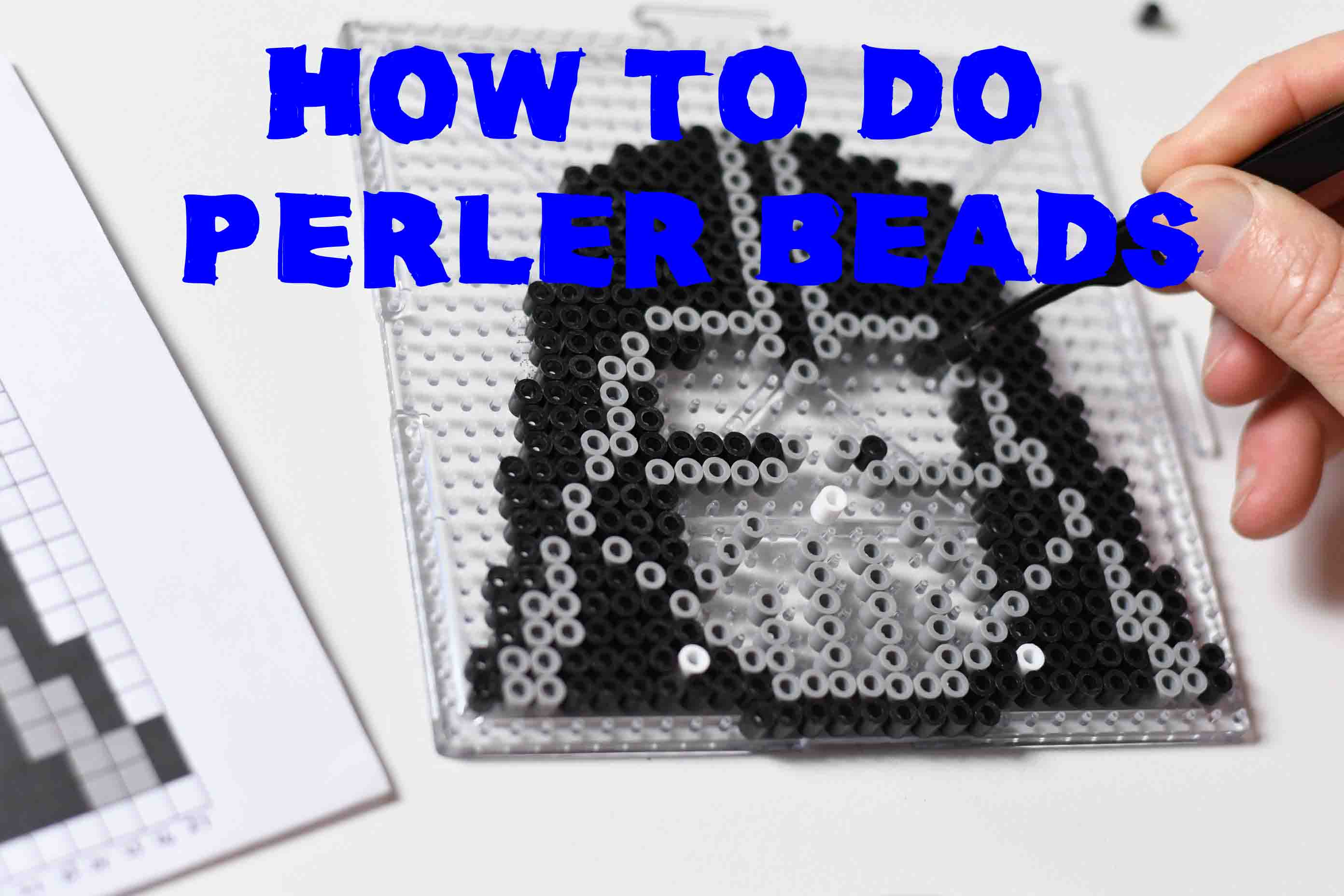 A simple 8 step guide on how to do Perler Beads!