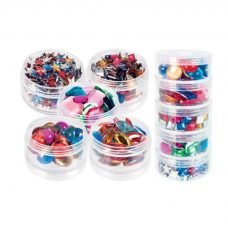 Zart Stackable Jewels in reusable container.