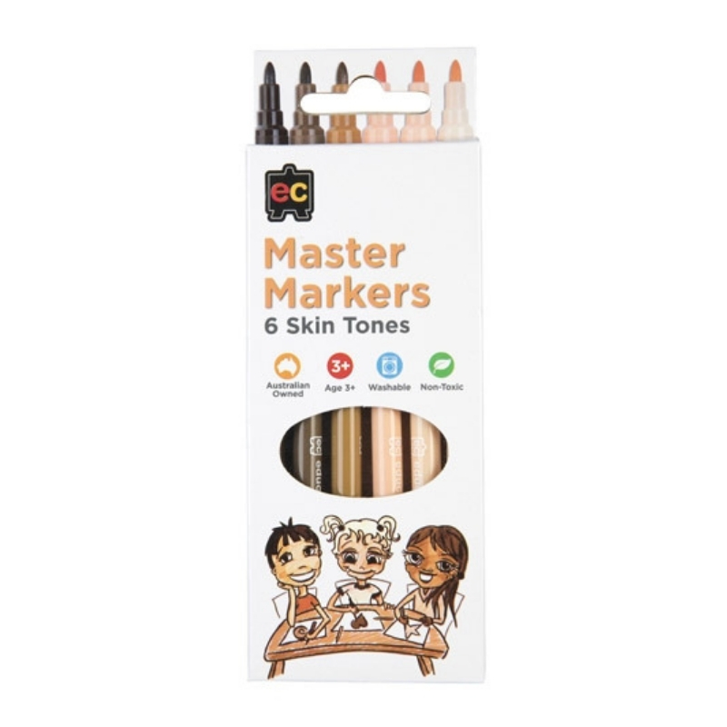 Master Skin Tone Markers Packet of 6