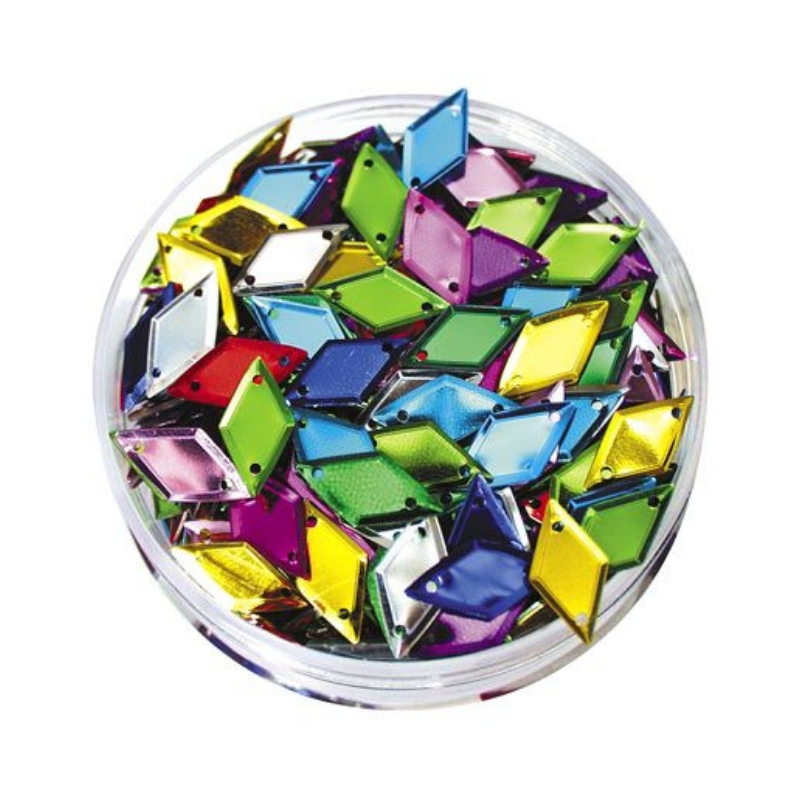 Sequins in a Jar 50g Diamond Coloured Creative School Supply Company