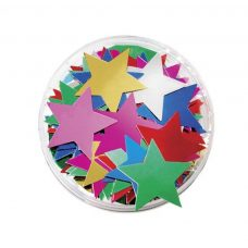 Large Stars Sequins in a Jar 50g