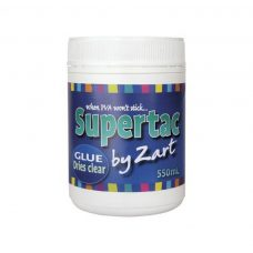 Supertac 550ml Adhesive Glue when PVA won't stick. Perfect for gluing odd surfaces in your craft project.