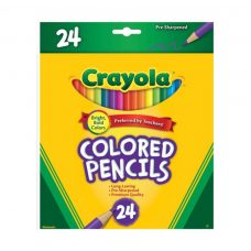 Crayola Coloured Pencils 24 Pack of quality long lasting pencils