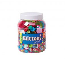 Basics Zart Buttons Bulk 600g