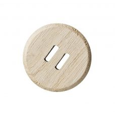 Large Wooden Button from 25 pack approx 40mm