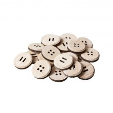 Large Wooden Buttons 25 pack
