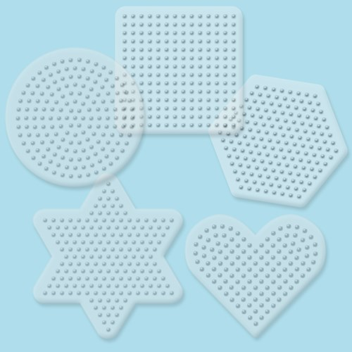 28000 Small Basic Shapes pegboards